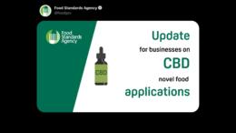 UK NovelFood Listung für CBD haltige Nahrungsmittel