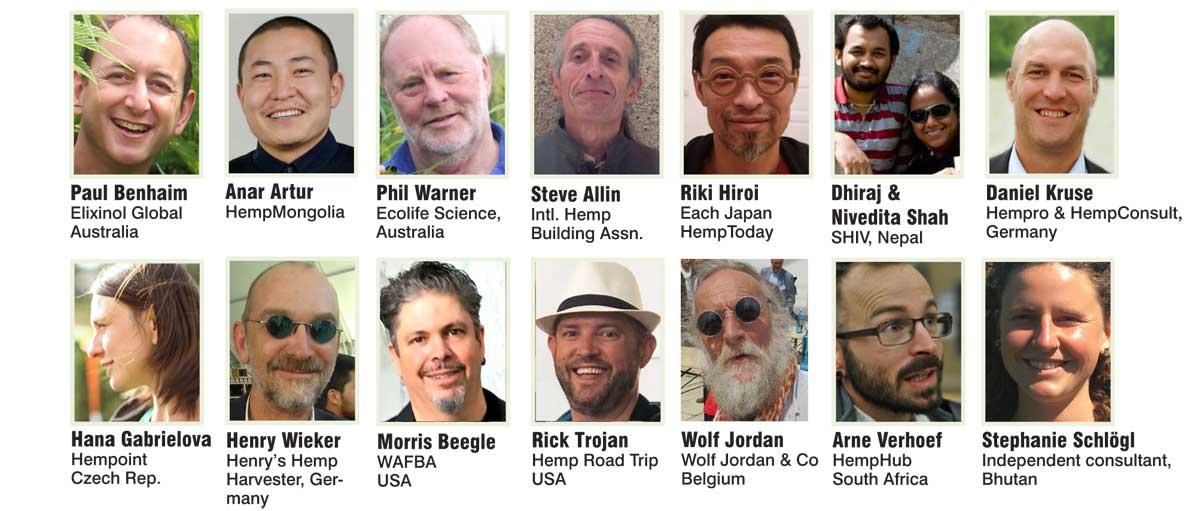 speakers 2019 Asian Hemp Summit