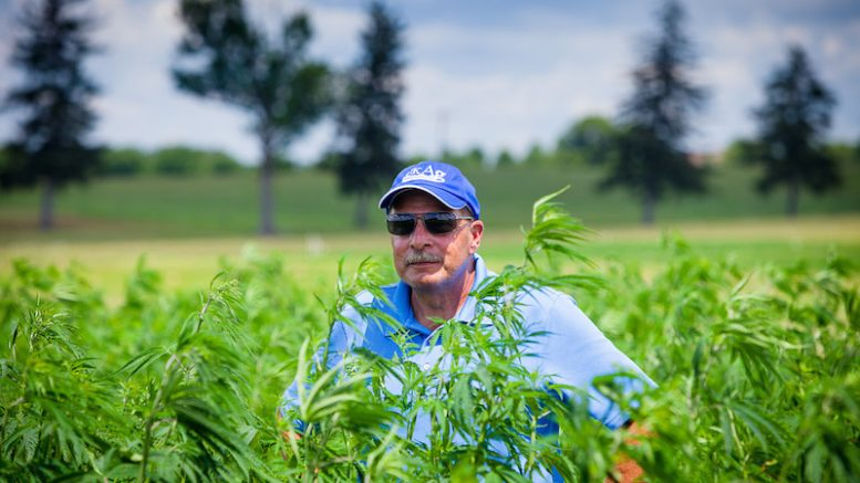 Dr. David Williams of the University of Kentucky College of Agriculture, Food and Environment Plant and Soil Science department