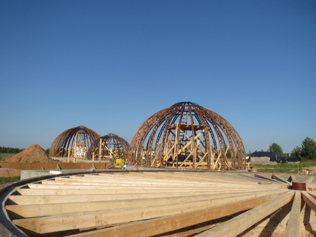 Hemp domes