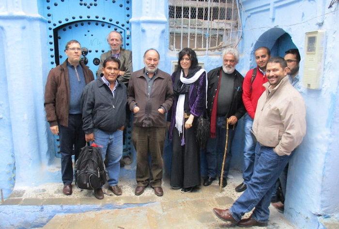 Cannabis colloquium in Tangier, Morocco.