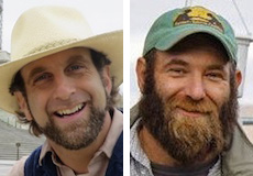Hemp farmers Doug Fine and Mike Lewis