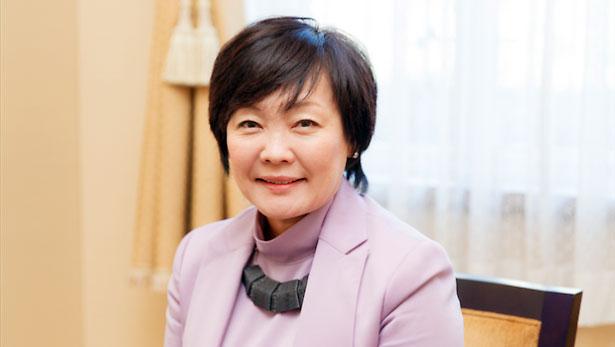 Akie Abe, Japan's first lady.