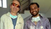 Steve Allin, International Hemp Building Assn., and Dhiraj K. Shah, Shah Hemp Inno-Ventures, Kathmandu