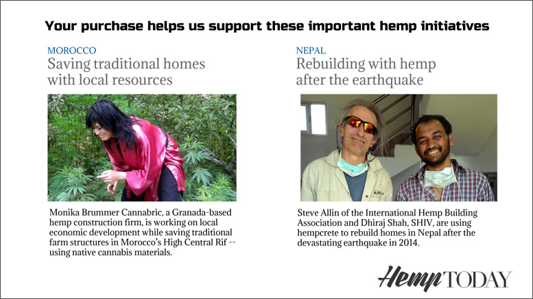 Humanitarian hemp projects