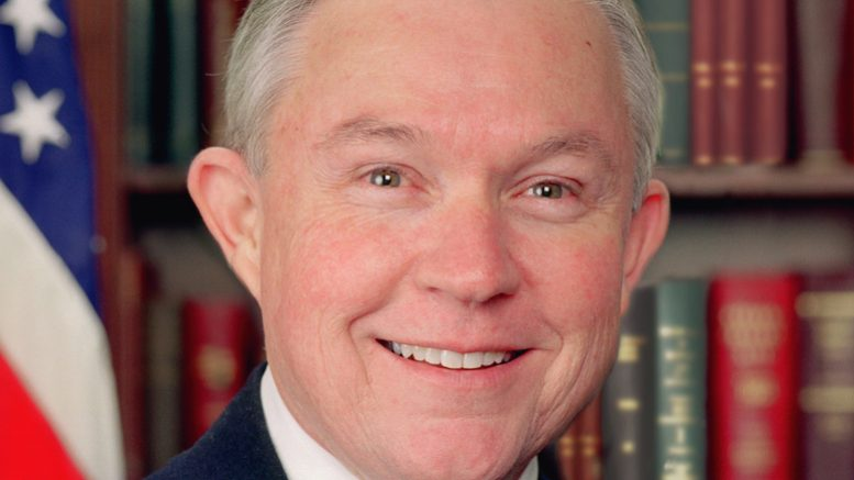 Attorney General nominee Jeff Sessions