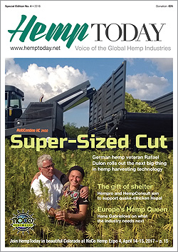 Global Hemp Village participants receive advertising in print edition