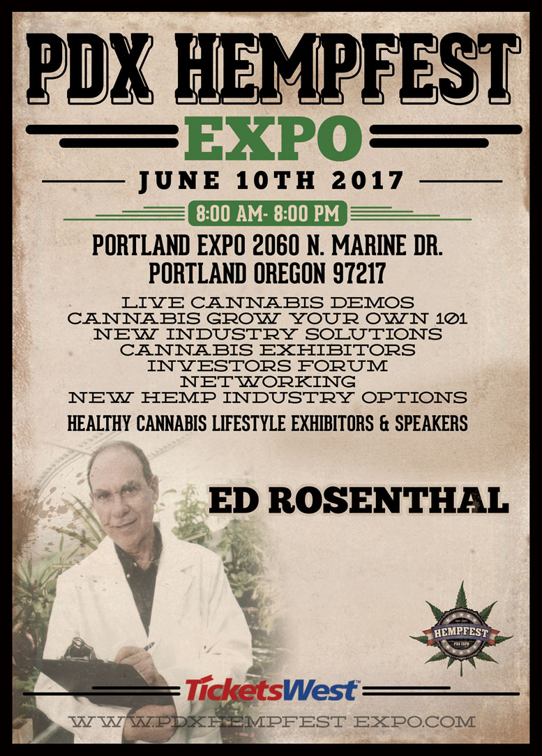 PDX Hempfest Expo on June 10, 2017
