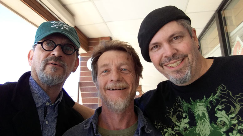 Kehrt Reyher of HempToday, John Patterson of Tiny Hemp Houses and Morris Beegle of NoCo Hemp Expo