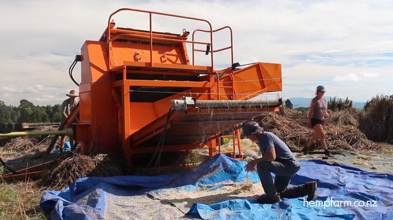 New Hemp Decorticator Announced by New Zealand Firm