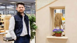 Piotr Jastrzębski is working to expand hempcrete building in Poland.