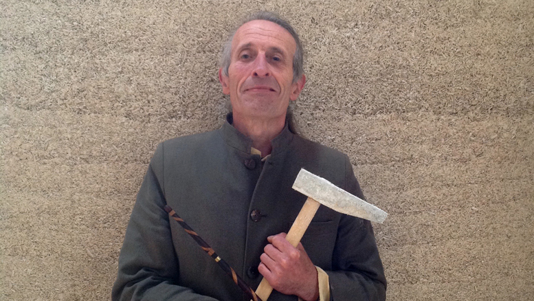 Steve Allin, Director of the International Hemp Building Association.