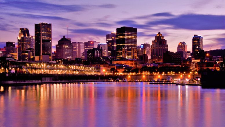Skyline of Montreal, Canada, site of the 2017 IHBA Symposium