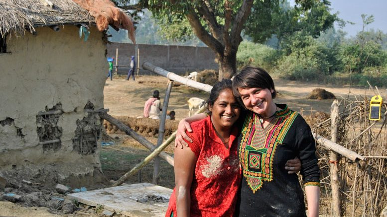 Hana Gabrielova with Nivedita Bansal