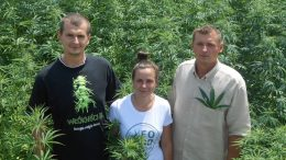 Daniel Bajas, Natacha Leban and Karol Bajas of Good Foods have built a hemp business model close to the source.