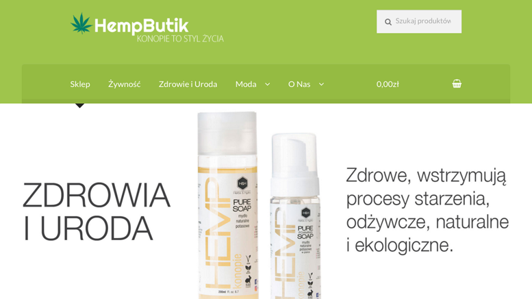 HempButik – Polish hemp eCommerce site