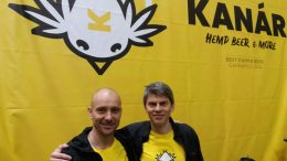 Kanar hemp beer from Czechia