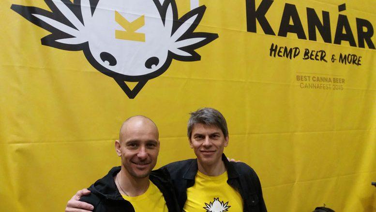 Kanar hemp beer from Czechia