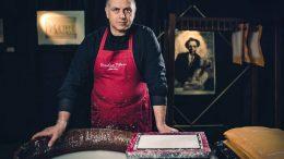 Sandro Tiberi, Italian hemp paper artist