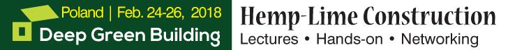 Hemp-Lime building workshop, February 24-26, 2018