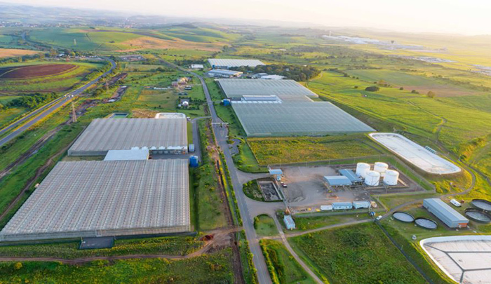 The Dube TradePort AgriZone near Durban's International Airport