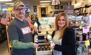 TVM Winery hemp-infused wine
