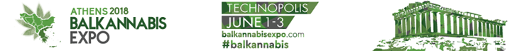 Balkannabis Expo in Athens, Greece on June 1-3, 2018