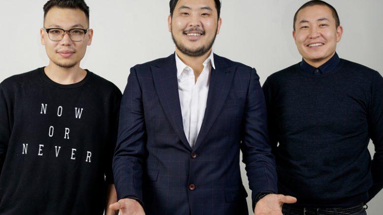 Tungalag Tamir, CTO; Munkhbayar Nyam-Ochir, COO; and Anar Artur, CEO, HempMongolia