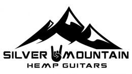 logo for Silver Mountain Hemp, makers of hemp guitars and accessories