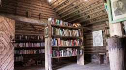 The library at Obelisk farm