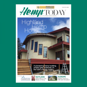 International Hemp Building Association special edition cover