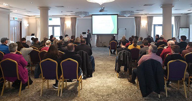 Meeting of the Irish Hemp Cooperative in Dublin.