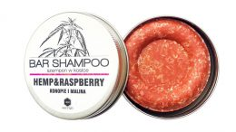 Hemp & Raspberry bar shampoo