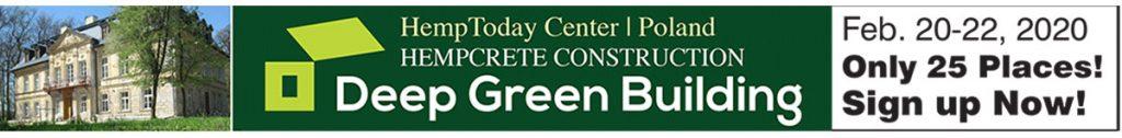 Deep Green Building, hempcrete construction workshop in Poland.