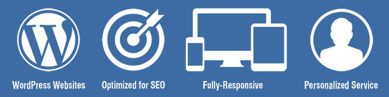 Fully-responsive WordPress websites optimized for SEO.