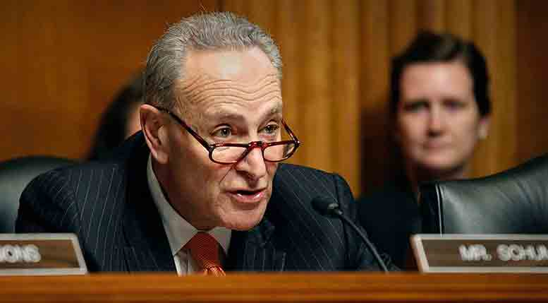 Sen. Charles Schumer, Democrat of New York.