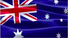 Australia CBD flag of Australia