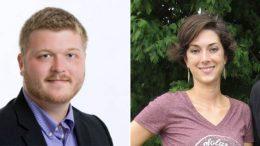 Tate Hall, President, and Katie Moyer, Secretary of the newly merged KYHA