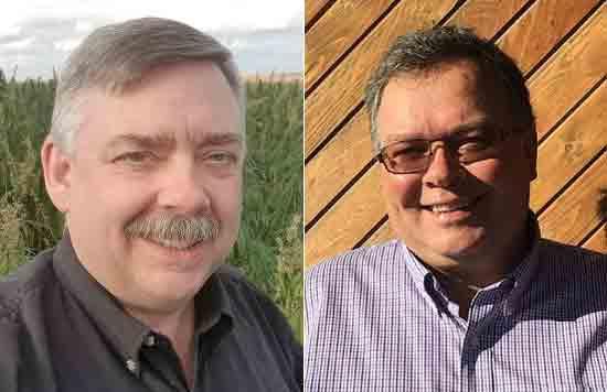 Ted Haney President and CFO; Keith Jones, Board Chairman, CHTA.