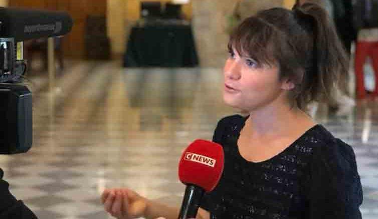 French National Assembly Member Sandrine Le Feur.