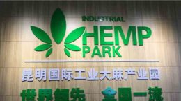 The Kunming International Industrial Hemp Park opened in September 2020.