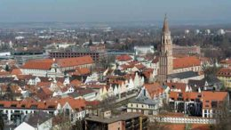 Landshut, population 72,000, straddles the River Isar in Bavaria.