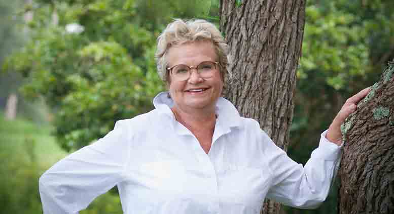 Susan Barnhardt, founder, SHEMP Yarn Company, Florida USA