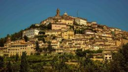 Trevi, an ancient town and commune in Umbria