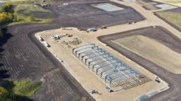 Site of CRHC's processing complex at Bruderheim, Alberta