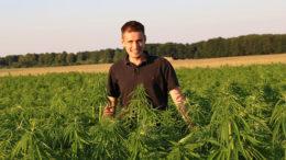 Tomasz Jawor of Polish hemp company Agrohemp