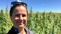 Andi Lucas, owner at X-Hemp Pty Ltd, Tasmania