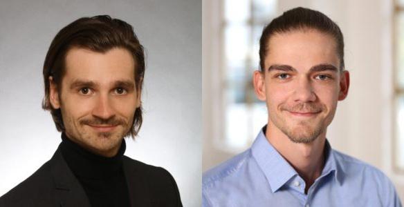 Nando Knodel, left, and Tim Künzel of HempConnect.