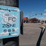 No smoking in downtown Ft. Collins.