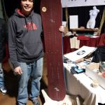 The hand-made splitboard from Pure Snowboards, Poland, was popular among the Colorado crowd.
